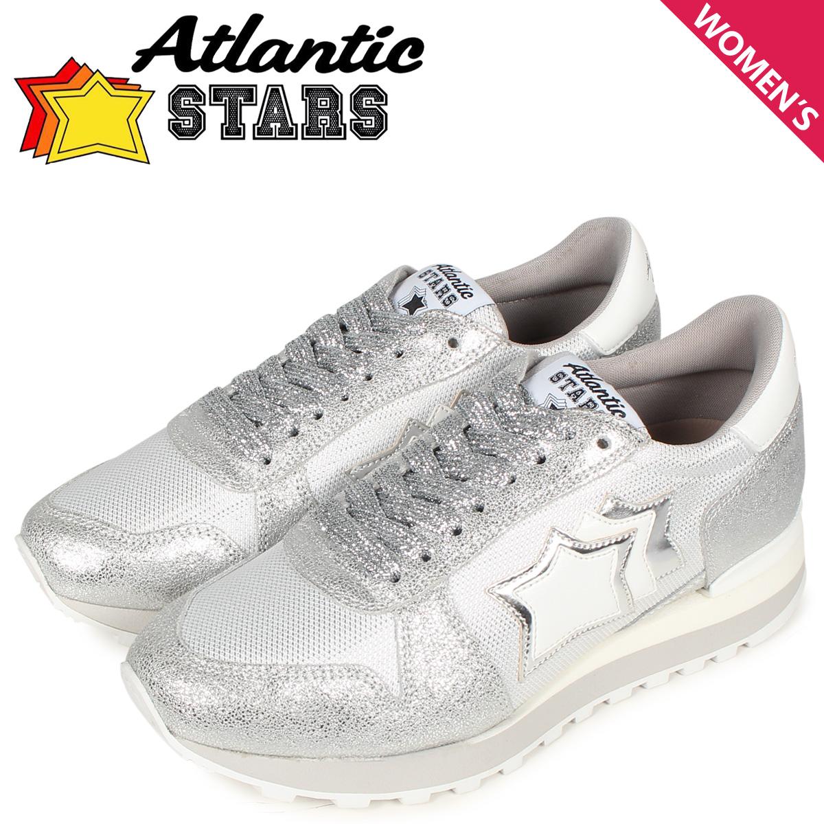 Atlantic STARS アトランティックスターズ アレナ スニーカー レディース ALHENA シルバー AG-NY-LGBB