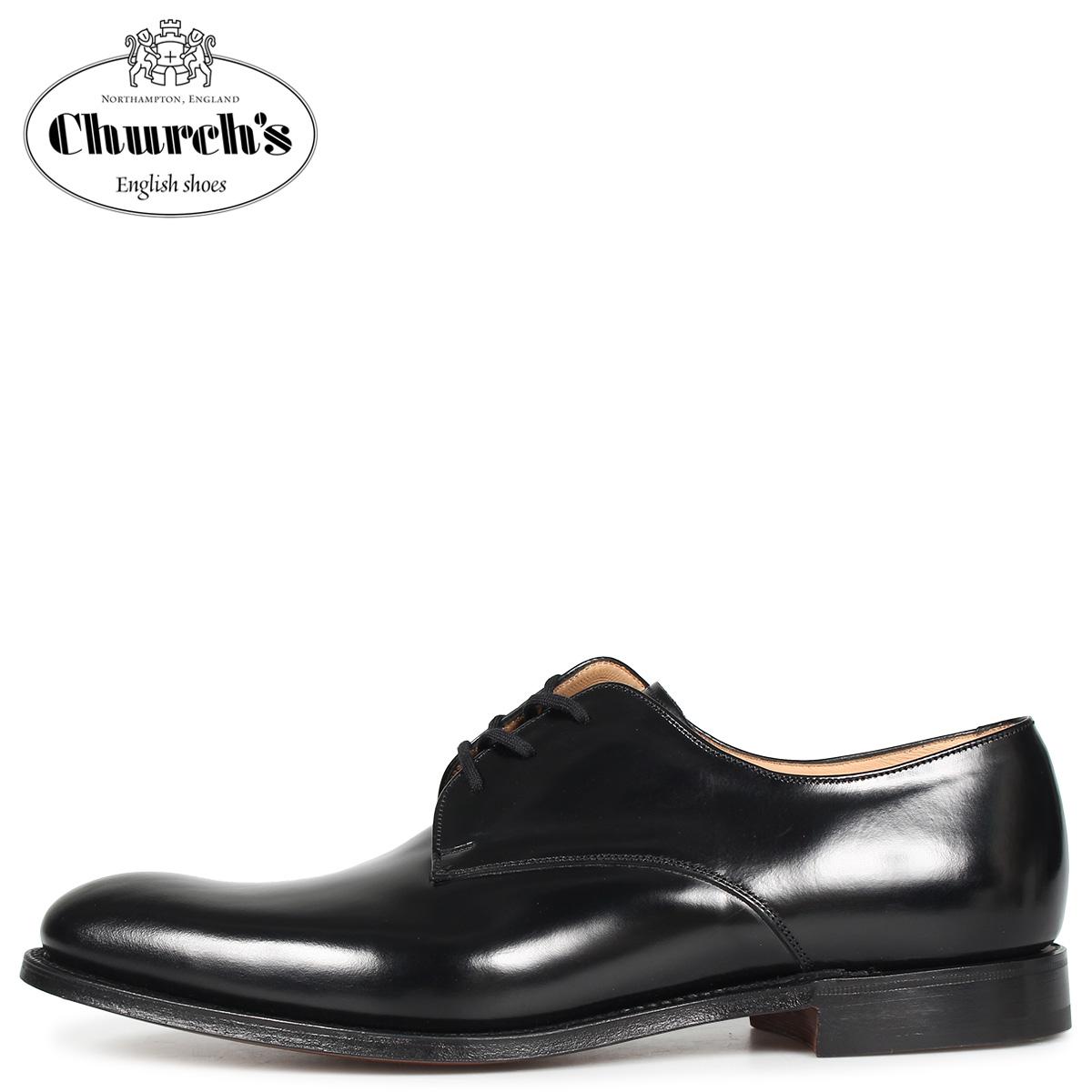 Churchs チャーチ オスロ ダービーシューズ メンズ OSLO ブラック 黒 EEB028