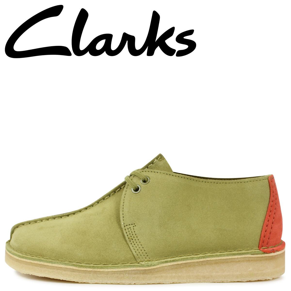 Clarks クラークス デザートトレック ブーツ メンズ DESERT TREK カーキ 26144179