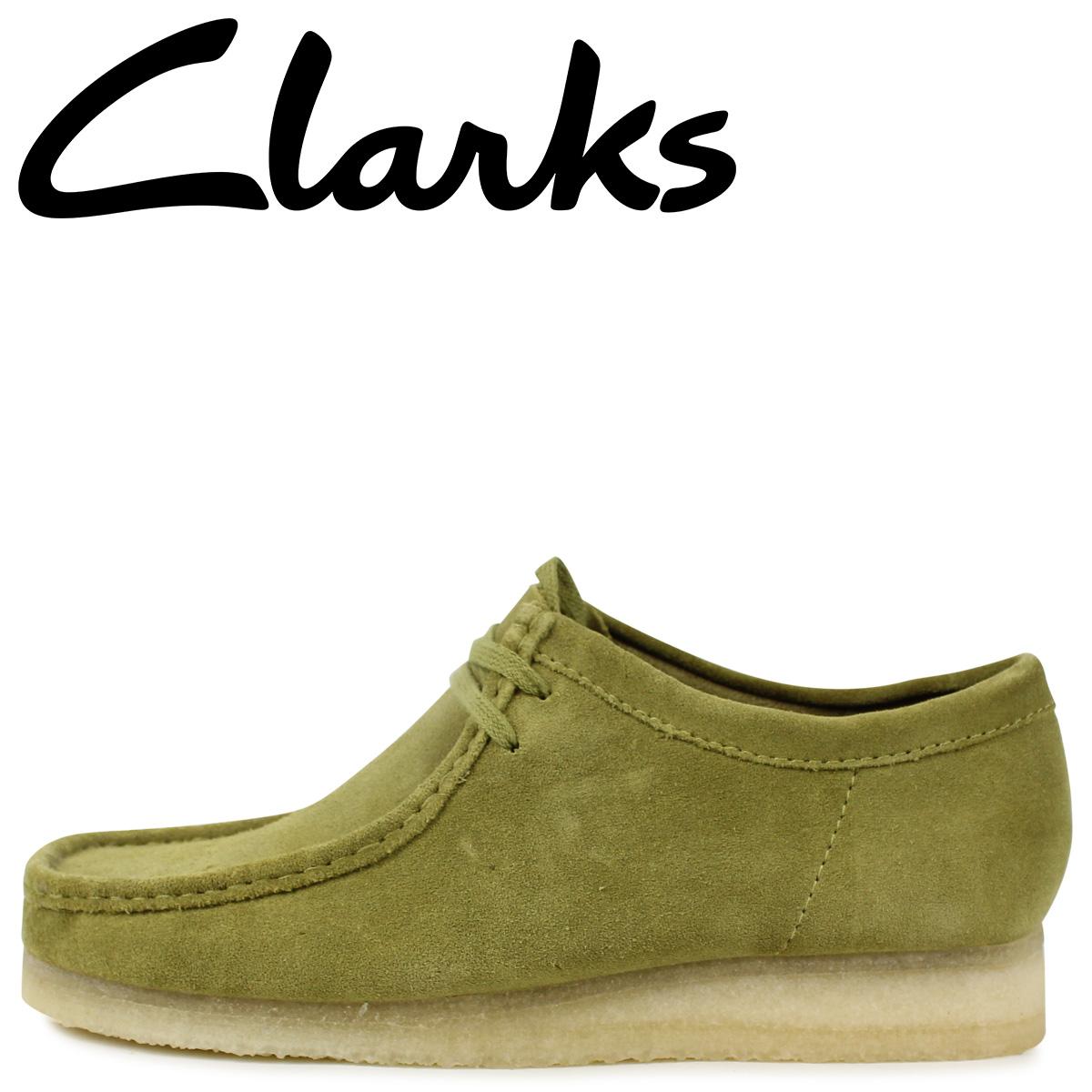 Clarks クラークス ワラビー ブーツ メンズ WALLABEE カーキ 26146513