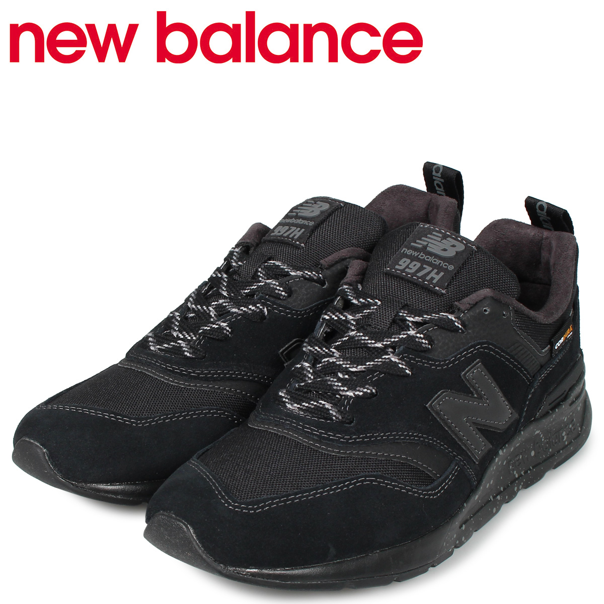 new balance ニューバランス 997 スニーカー メンズ Dワイズ ブラック 黒 CM997HCY