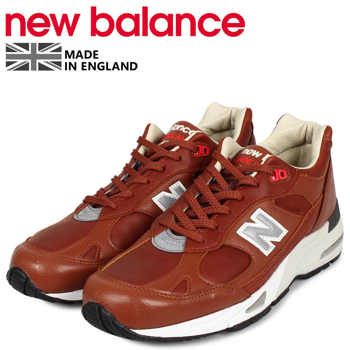 new balance ニューバランス 991 スニーカー メンズ ワイズ:D ブラウン M991GNB