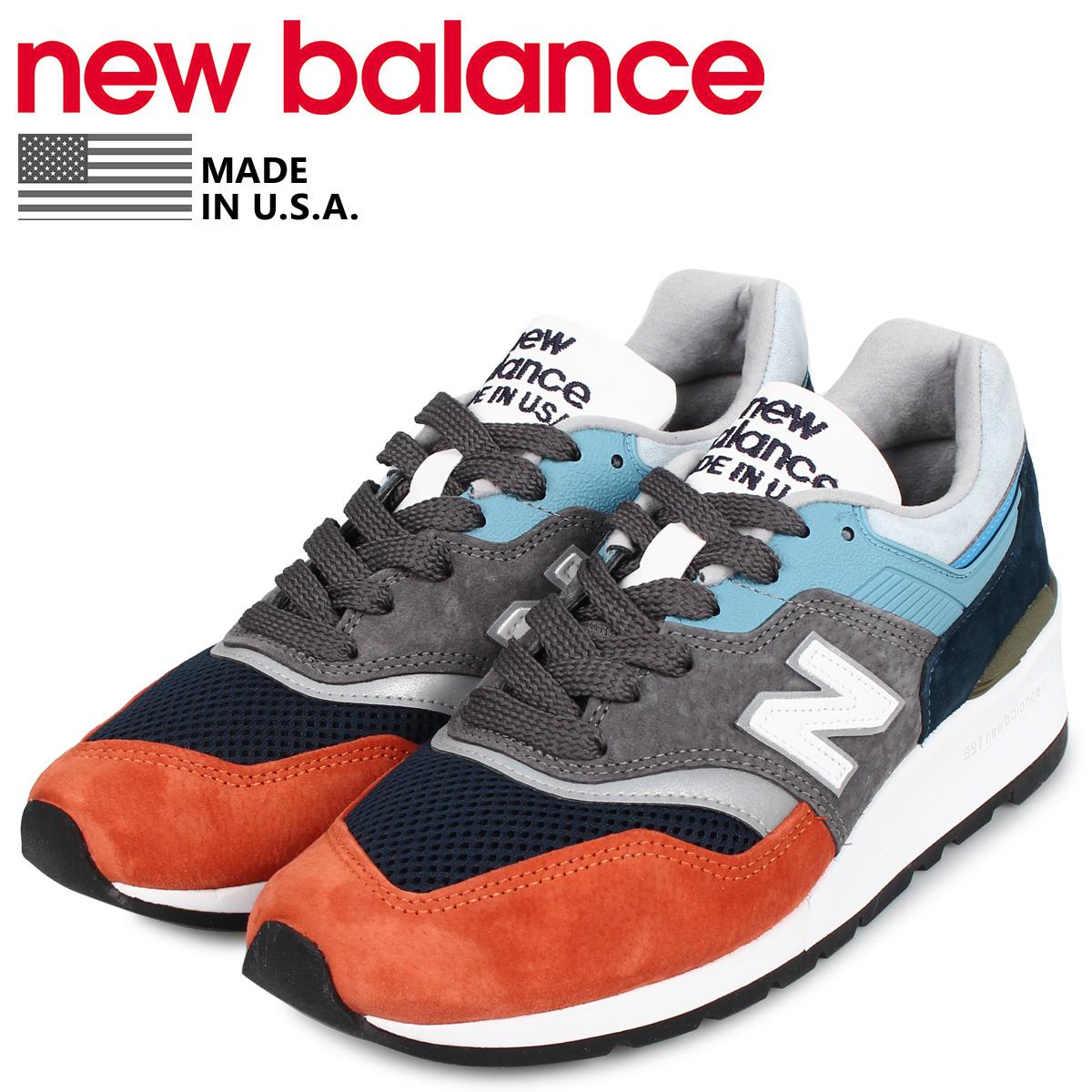 new balance ニューバランス 997 スニーカー メンズ ワイズ:D グレー M997NAG