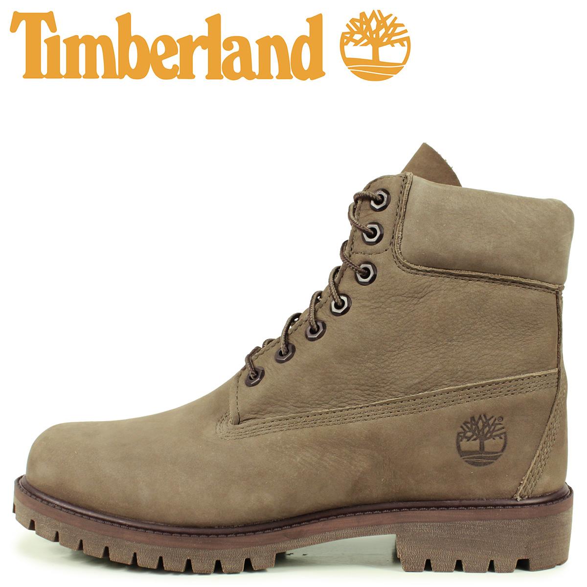 Timberland ティンバーランド ブーツ 6インチ ウォータープルーフ メンズ 6INCH WATERPROOF BOOTS オリーブ A24W3