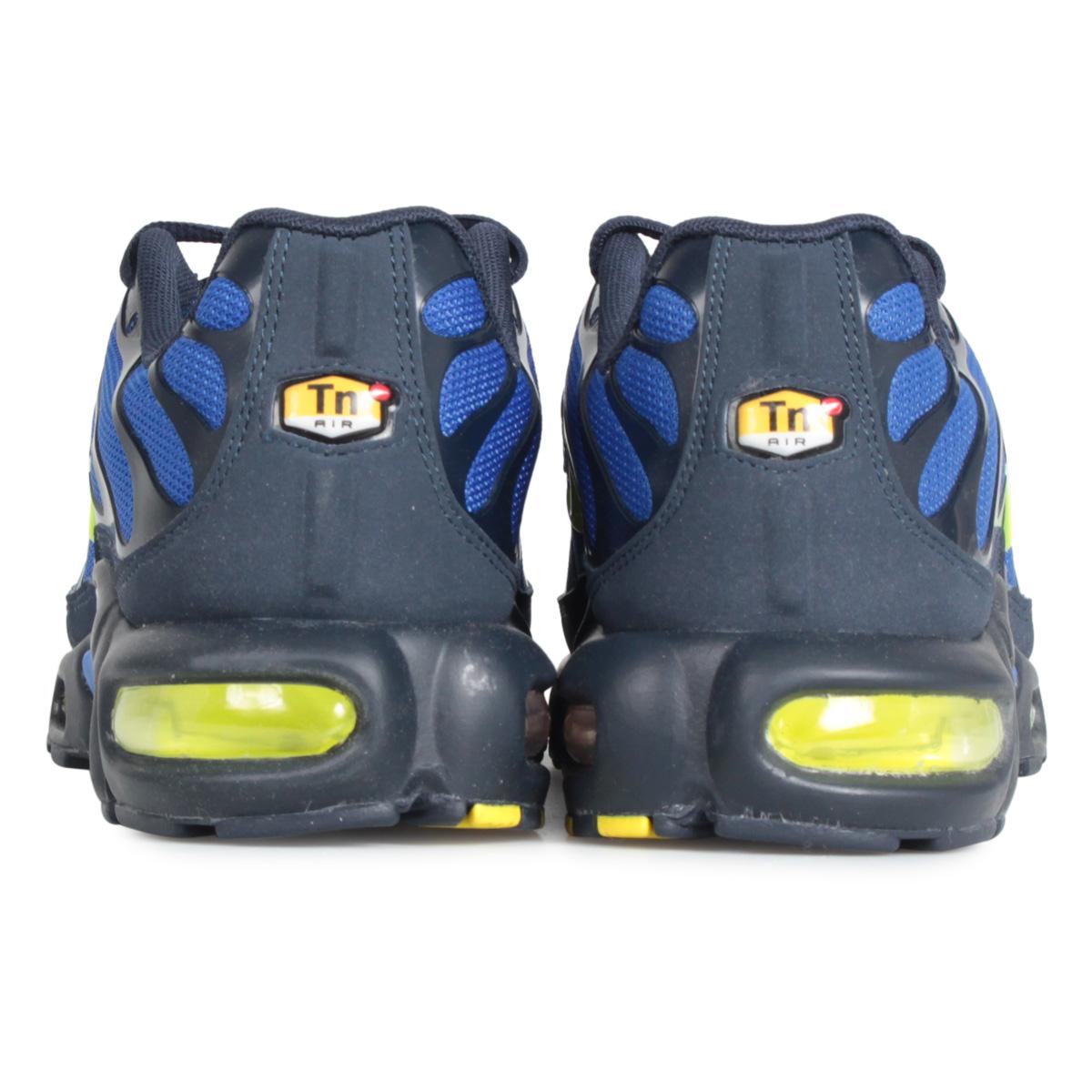 NIKE Kie Ney AMAX plus sneakers men AIR MAX PLUS blue 852,630 412 [1128 Shinnyu load]