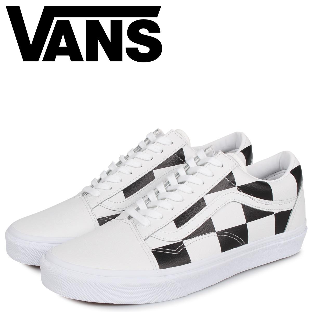 バンズ VANS オールドスクール スニーカー メンズ ヴァンズ OLD SKOOL ホワイト 白 VN0A4BV5TPL