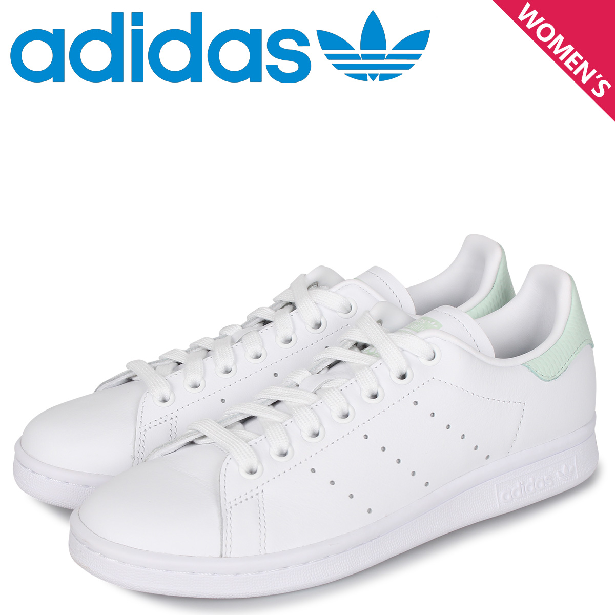 adidas Originals アディダス オリジナルス スタンスミス スニーカー レディース STANSMITH W ホワイト 白 EF6876