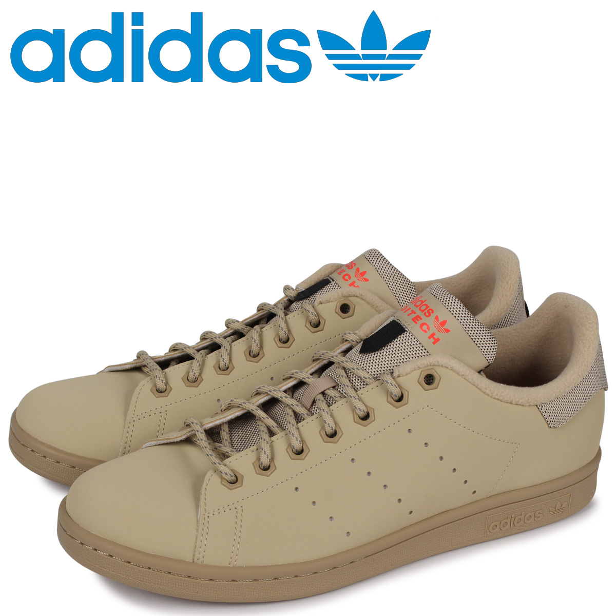 adidas Originals アディダス オリジナルス スタンスミス スニーカー メンズ STAN SMITH ベージュ FV4649