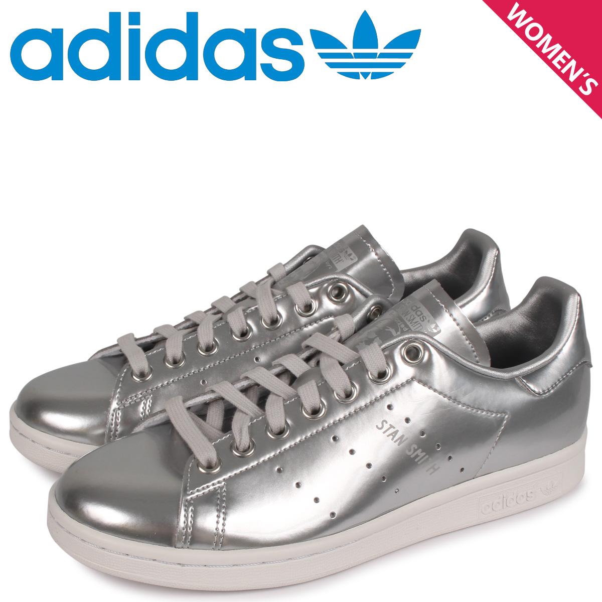 adidas Originals アディダス オリジナルス スタンスミス スニーカー レディース STAN SMITH W シルバー FW5477