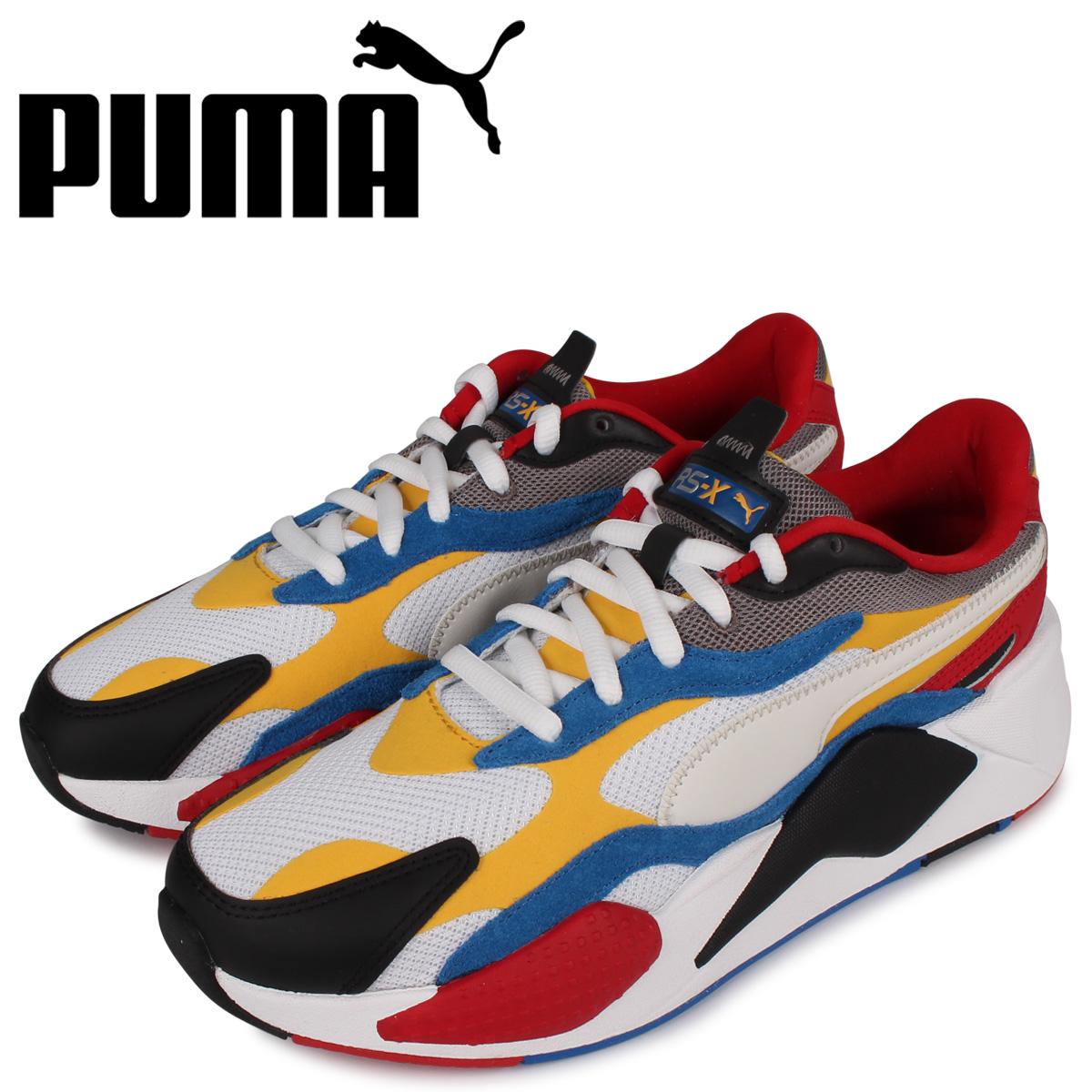 PUMA プーマ パズル スニーカー メンズ RS-X3 PUZZLE ホワイト 白 371570 04