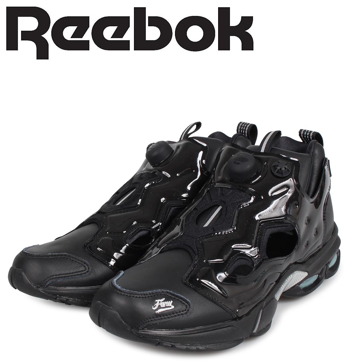 Reebok リーボック フューリー ミレニアム スニーカー メンズ FURY MILLENNIUM ブラック 黒 DV7676