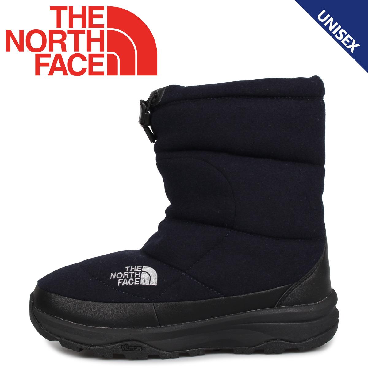 THE NORTH FACE ノースフェイス ヌプシ ブーティ ウール5 ブーツ ウィンターブーツ メンズ レディース NUPTSE BOOTIE WOOL 5 ネイビー NF51978