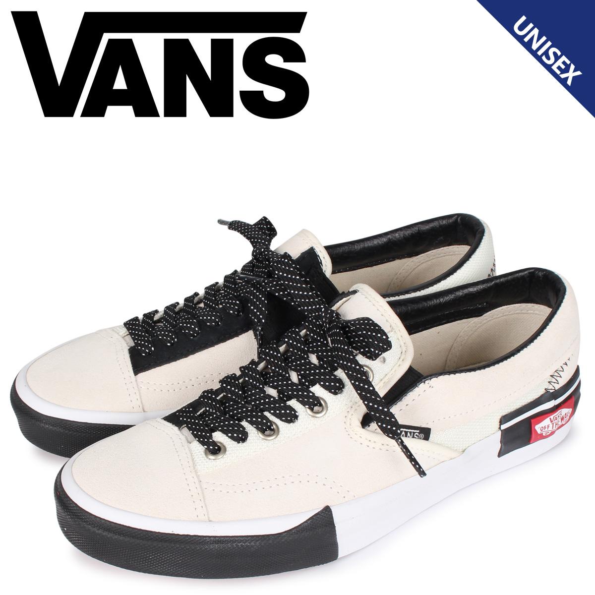 ヴァンズ VANS スリッポン カット スニーカー メンズ レディース SLIP-ON CAP ホワイト 白 VN0A3WM5TUU