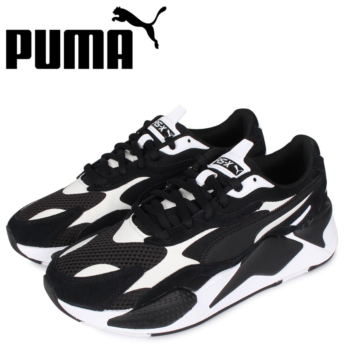 PUMA プーマ スーパー スニーカー メンズ RS-X3 SUPER ブラック 黒 372884-07