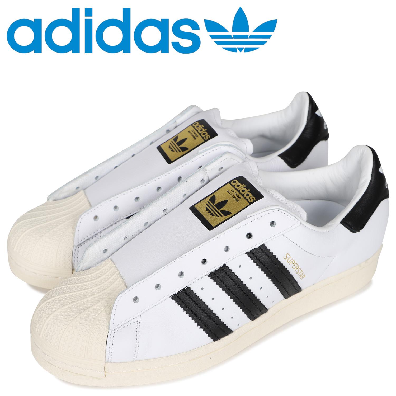 adidas Originals アディダス オリジナルス スーパースター レースレス スニーカー スリッポン メンズ レディース SUPERSTAR LACELESS ホワイト 白 FV3017