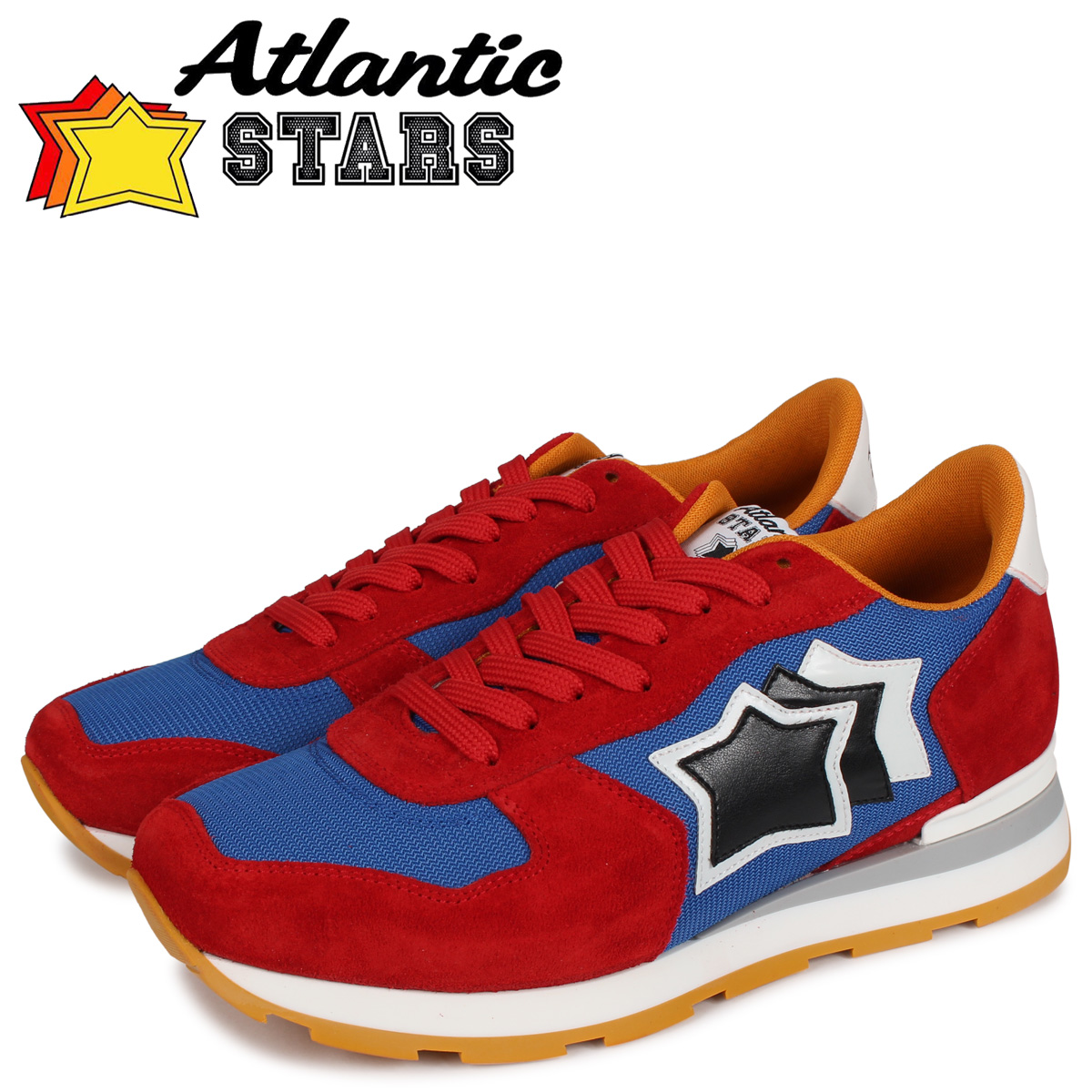 Atlantic STARS アトランティックスターズ アンタレス スニーカー メンズ ANTARES レッド FAA-50B