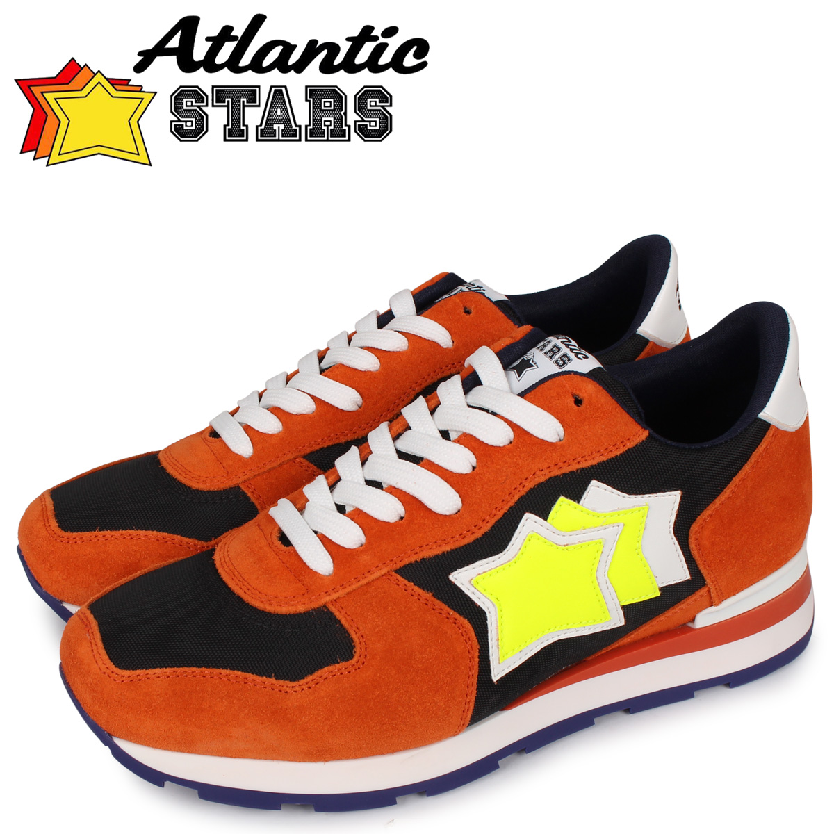 Atlantic STARS アトランティックスターズ アンタレス スニーカー メンズ ANTARES オレンジ ONN-16B [4/7 新入荷]