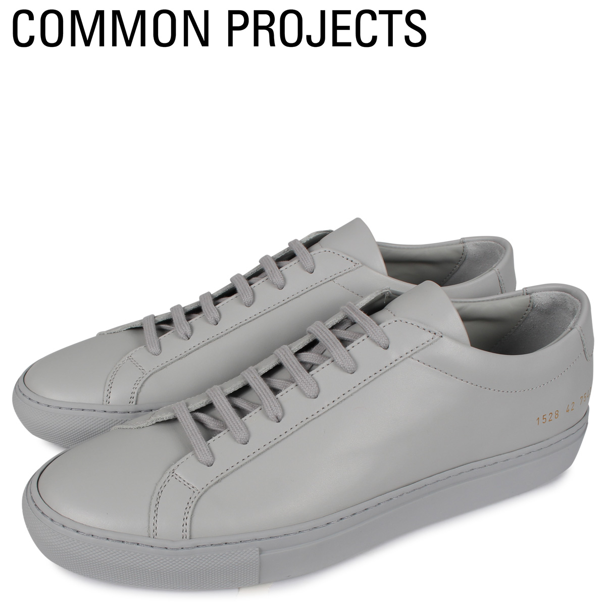 Common Projects コモンプロジェクト アキレス ロー スニーカー メンズ ACHILLES LOW グレー 1528-7543 [4/2新入荷]