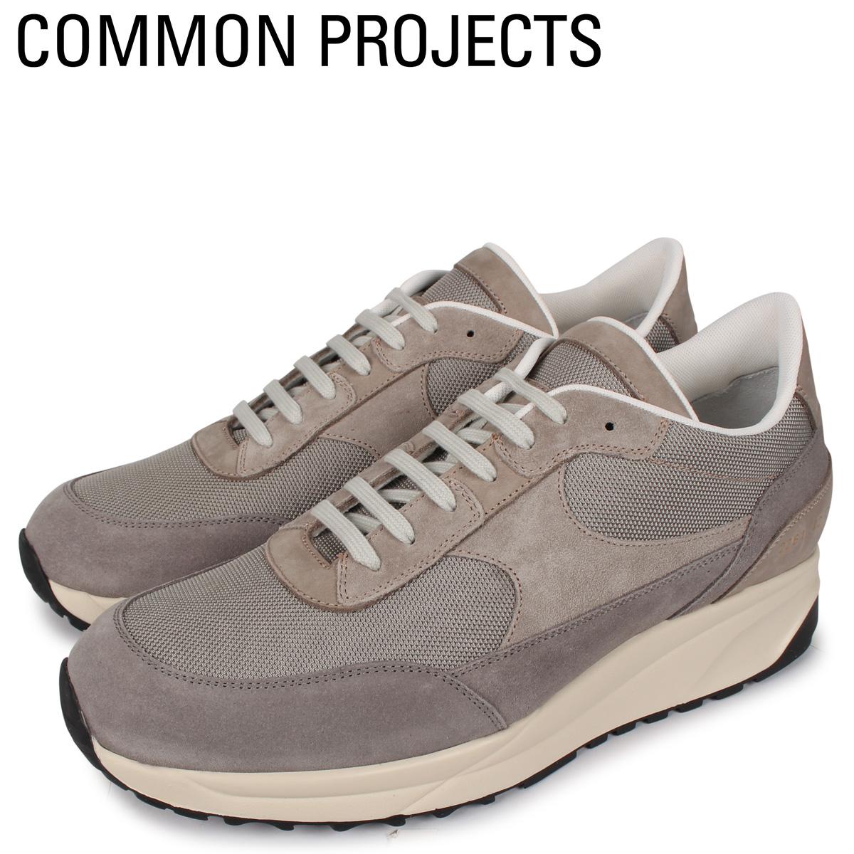Common Projects コモンプロジェクト トラック クラシック スニーカー メンズ TRACK CLASSIC MULTI MATERIAL グレー 2261-3874W [4/2新入荷]