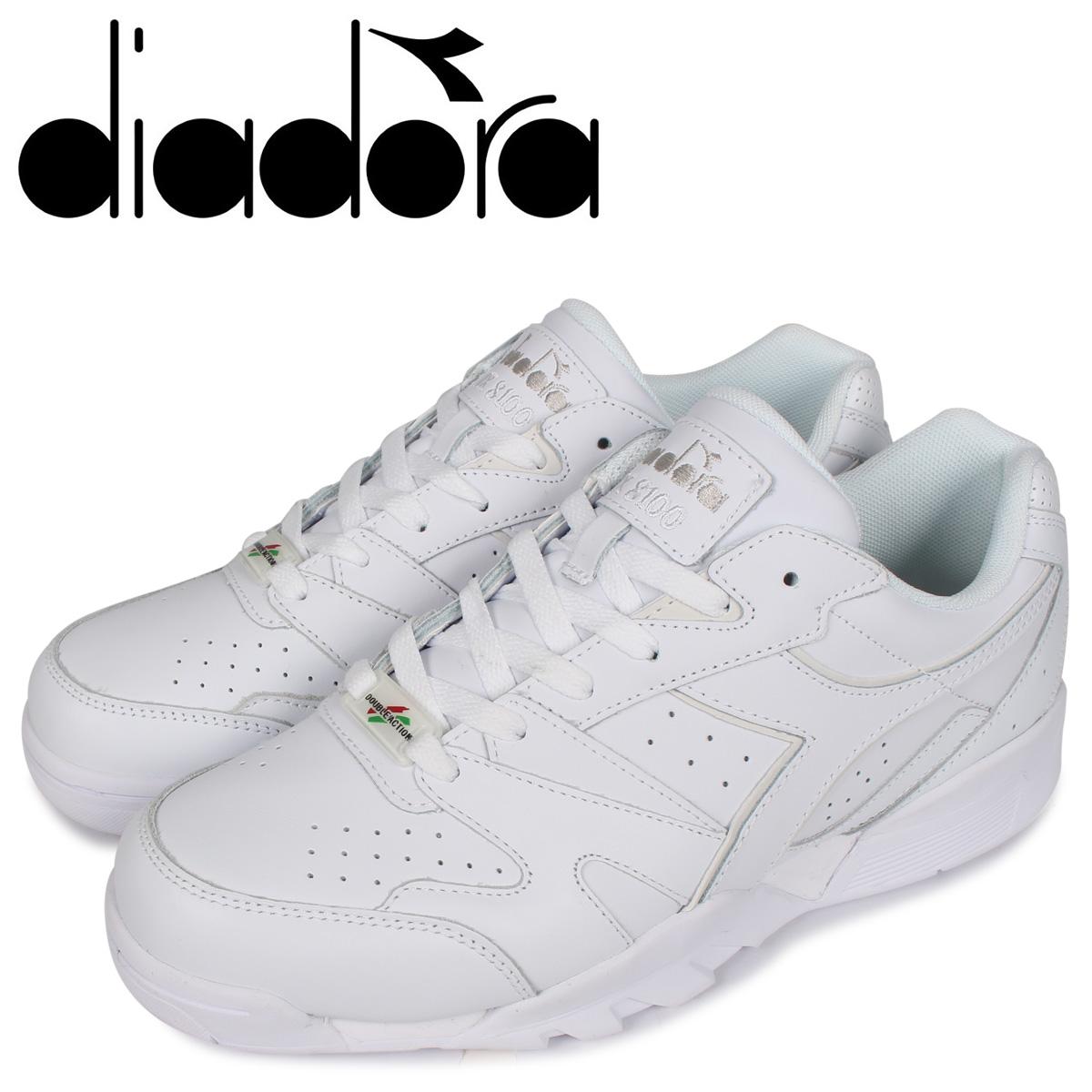 Diadora ディアドラ クロス トレイナー スニーカー メンズ CROSS TRAINER DX ホワイト 白 175732-6180 [3/2 新入荷]