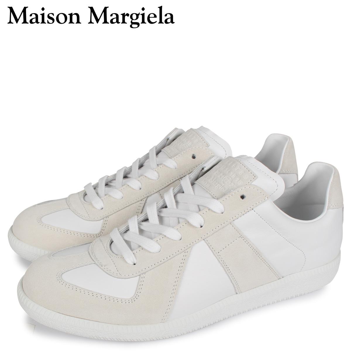 MAISON MARGIELA メゾンマルジェラ レプリカ スニーカー メンズ REPLICA LOW TOP ホワイト 白 S57WS0236 [3/3 新入荷]