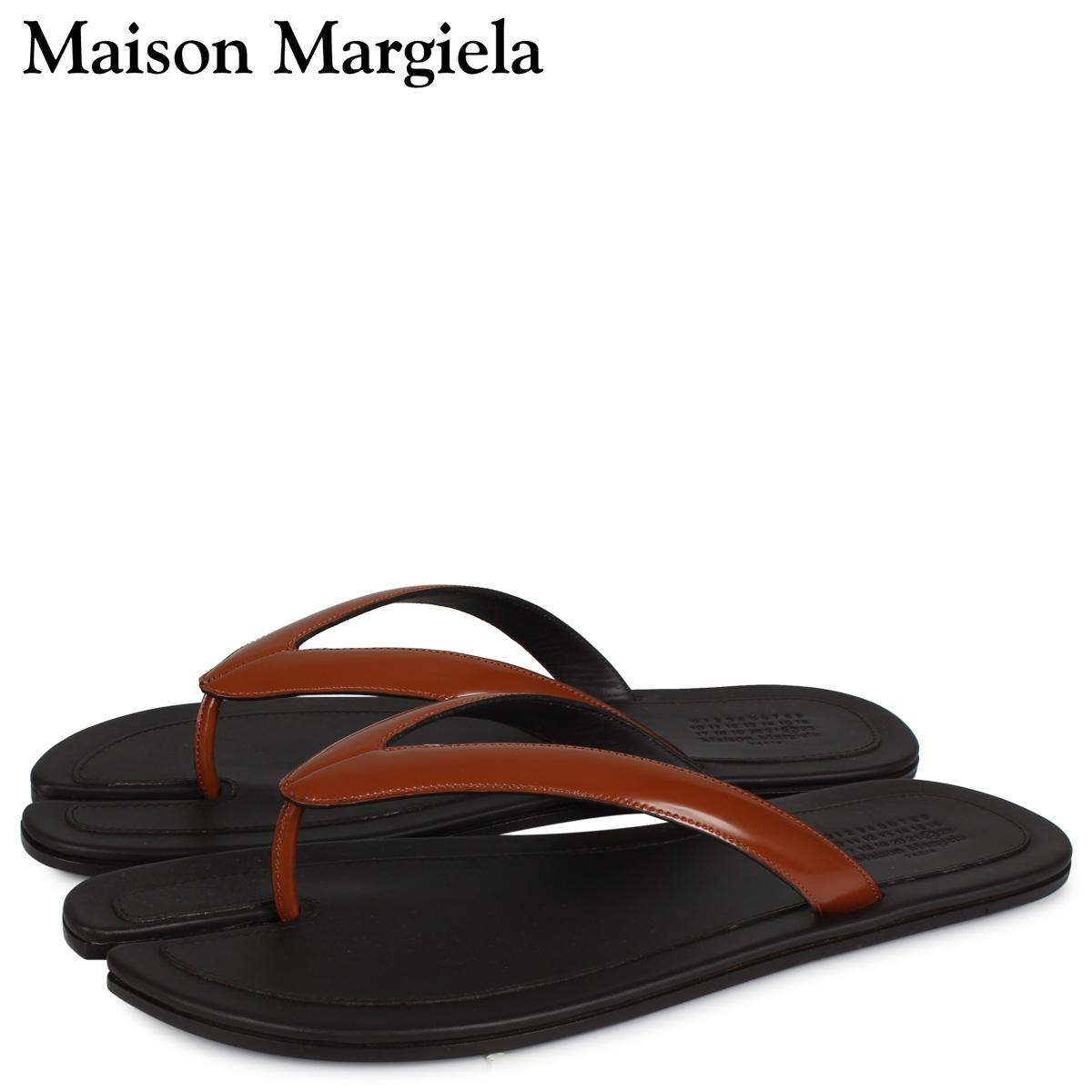 MAISON MARGIELA メゾンマルジェラ タビ フリップ フロップ サンダル ビーチサンダル メンズ TABI FLIP FLOP ブラック 黒 S57WX0023