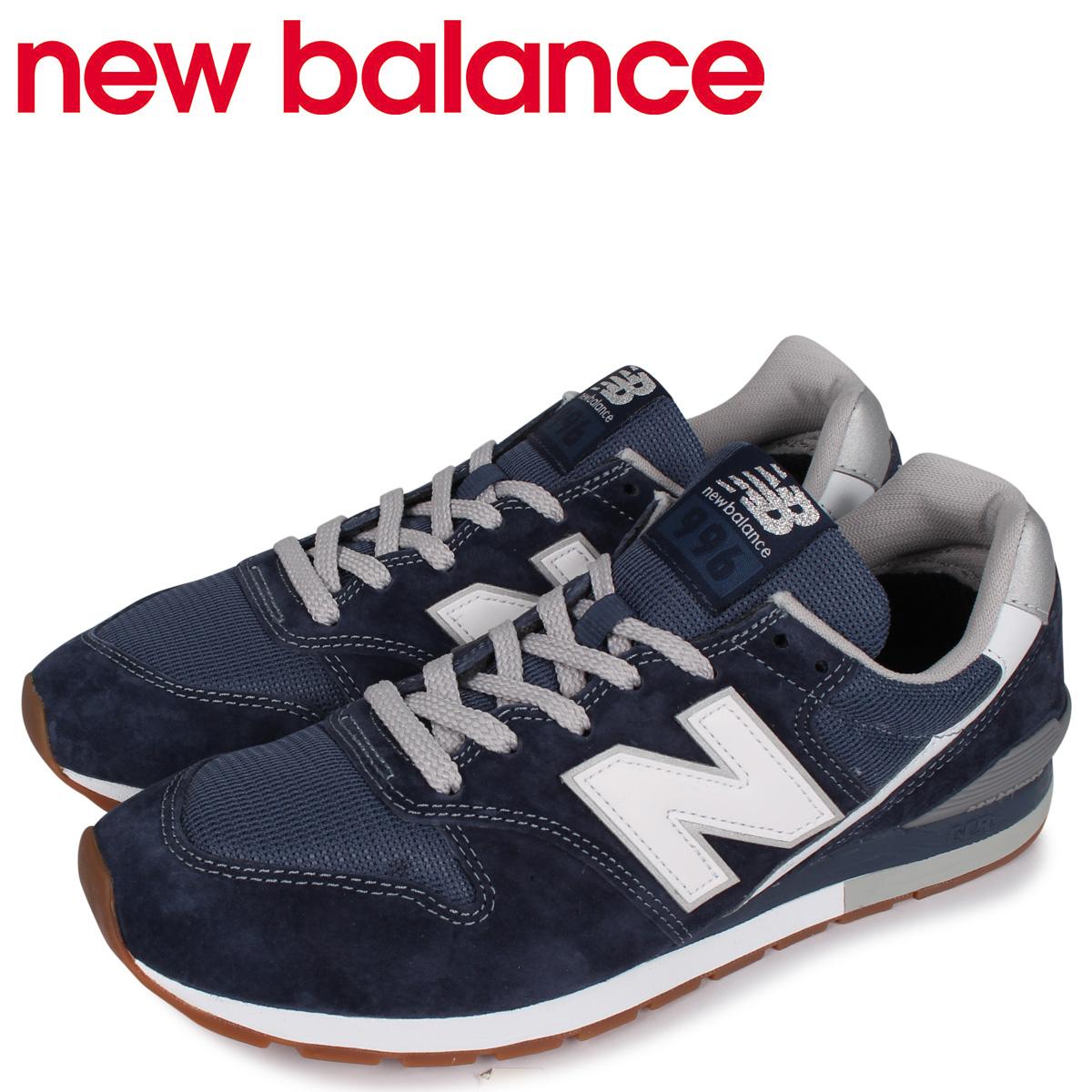 new balance ニューバランス 996 スニーカー メンズ Dワイズ ネイビー CM996SMN