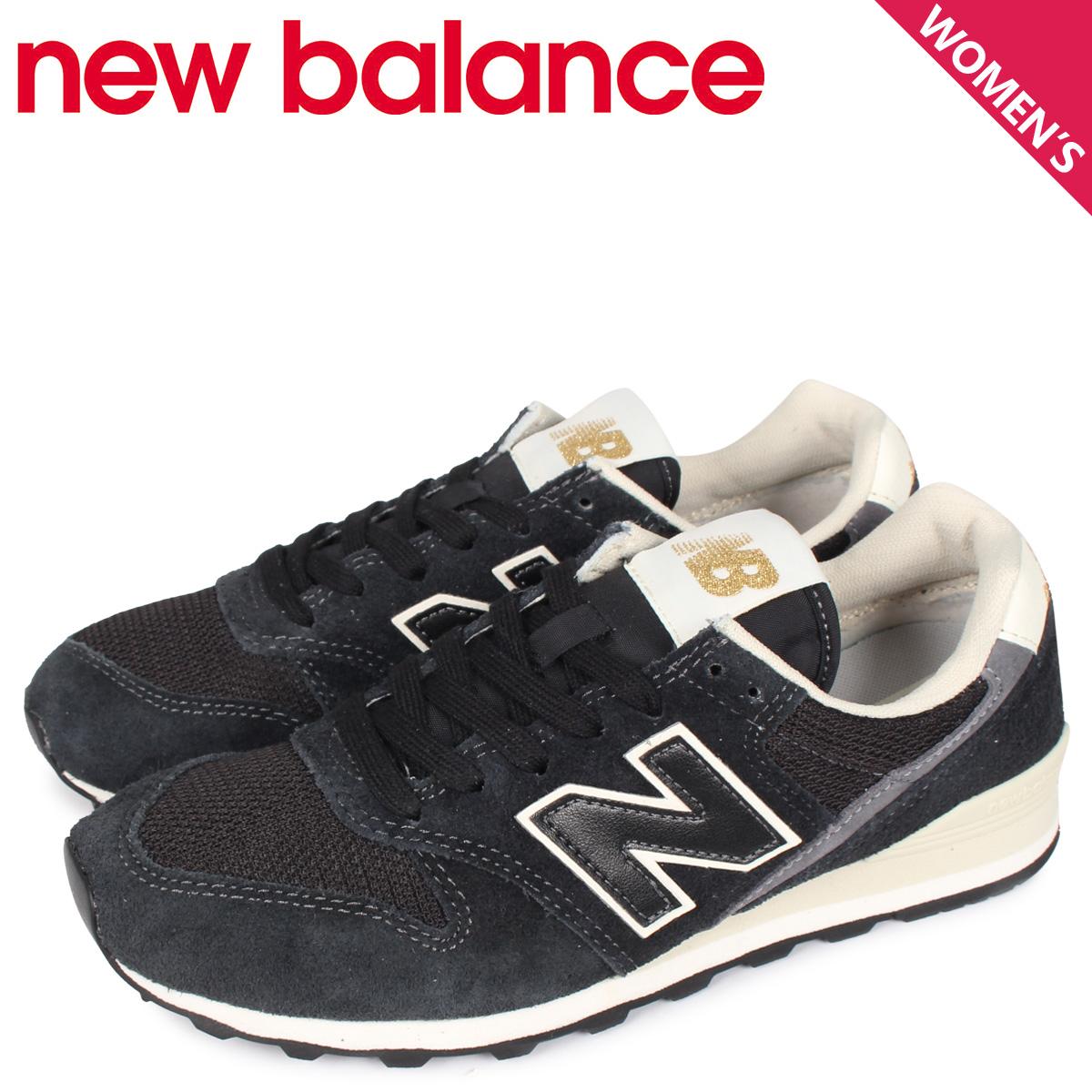 new balance ニューバランス 996 スニーカー レディース Dワイズ ブラック 黒 WL996VHB [3/17 新入荷]