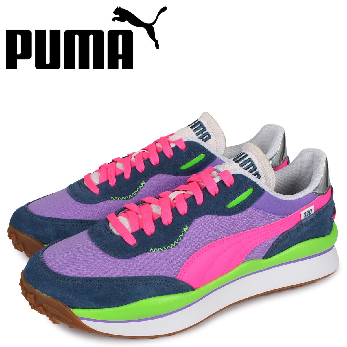 PUMA プーマ スタイル ライダー スニーカー メンズ STYLE RIDER パープル 37115004