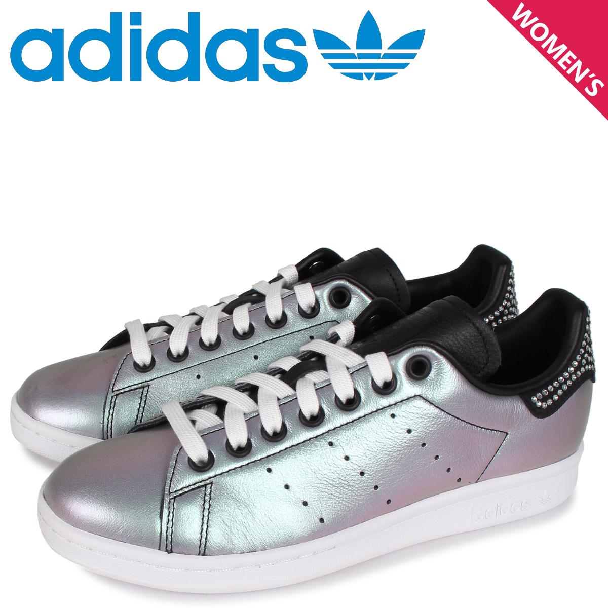 adidas Originals アディダス オリジナルス スタンスミス スニーカー レディース STAN SMITH W ブラック 黒 FV3423 [4/27 新入荷]