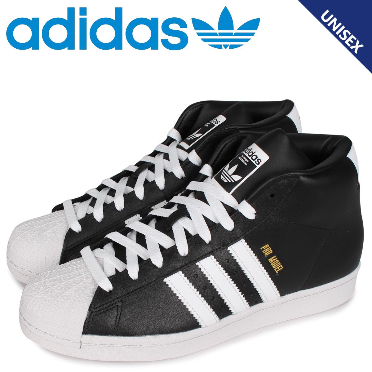 adidas Originals アディダス オリジナルス プロモデル スニーカー メンズ レディース PRO MODEL ブラック 黒 FV4498 [4/27 新入荷]