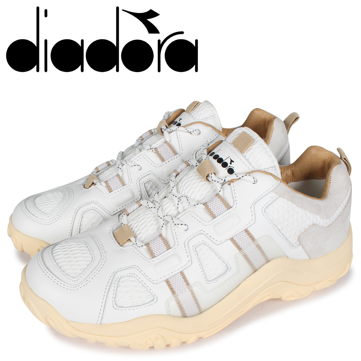 Diadora ディアドラ アルパカ スニーカー メンズ ALPACA ホワイト 白 176336-0657 [4/23 新入荷]