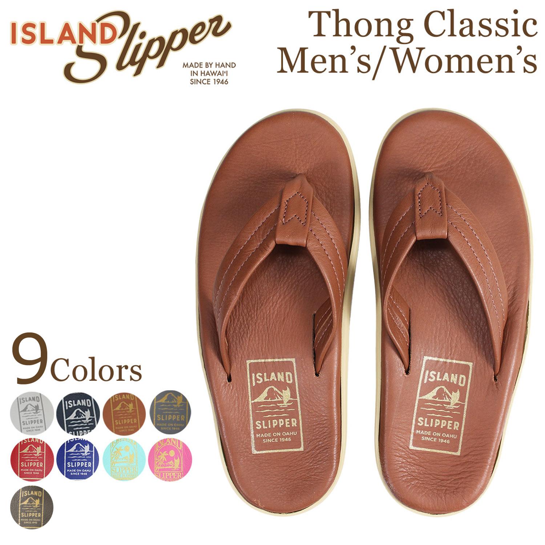 ISLAND SLIPPER アイランドスリッパ クラシック サンダル トングサンダル メンズ レディース レザー THONG CLASSIC PT202 [5/19 追加入荷]