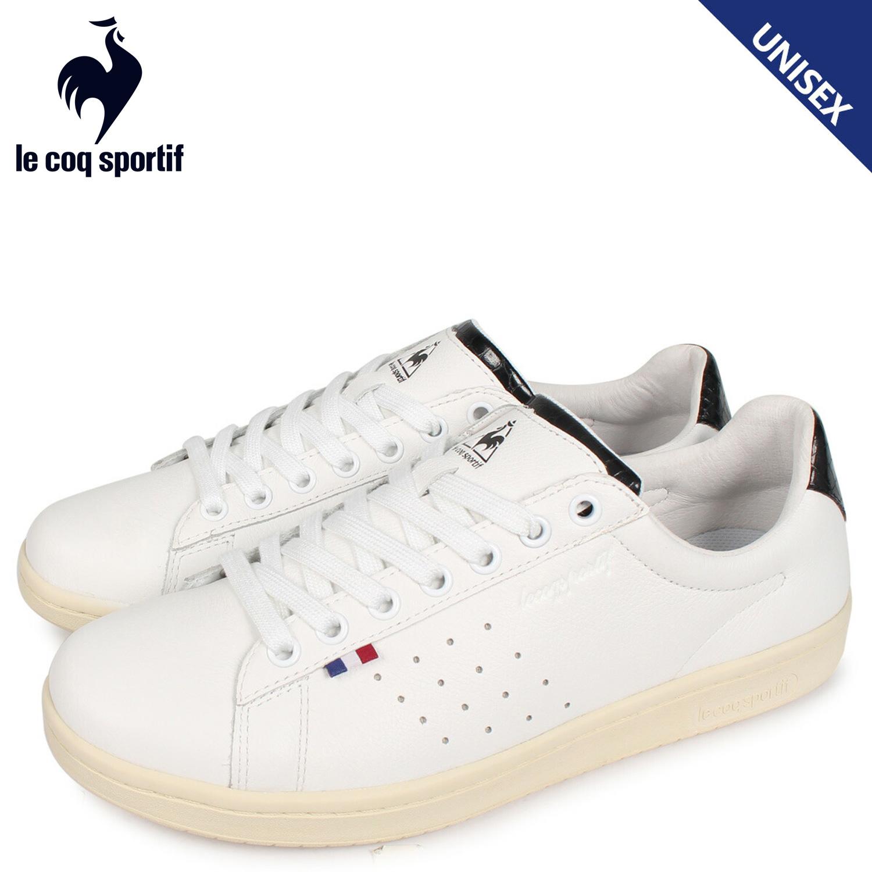 le coq sportif ルコック スポルティフ スニーカー LA ローラン メンズ レディース LA ROLAND LE+2 ホワイト 白 QL1PJC06WC [4/1 新入荷]