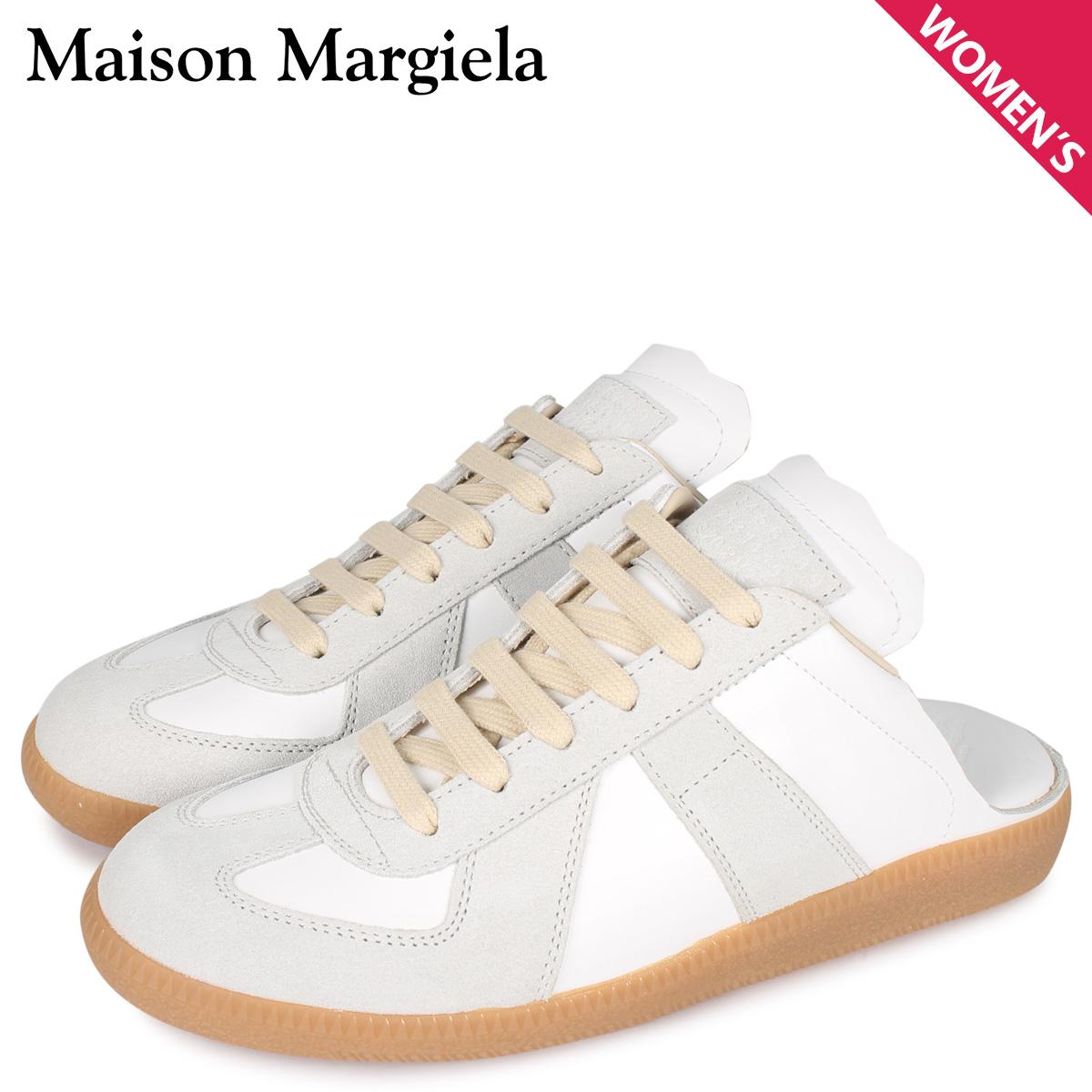 MAISON MARGIELA メゾンマルジェラ レプリカ スニーカー スリッポン レディース  REPLICA ホワイト 白 S58WS0107 [4/6 新入荷]