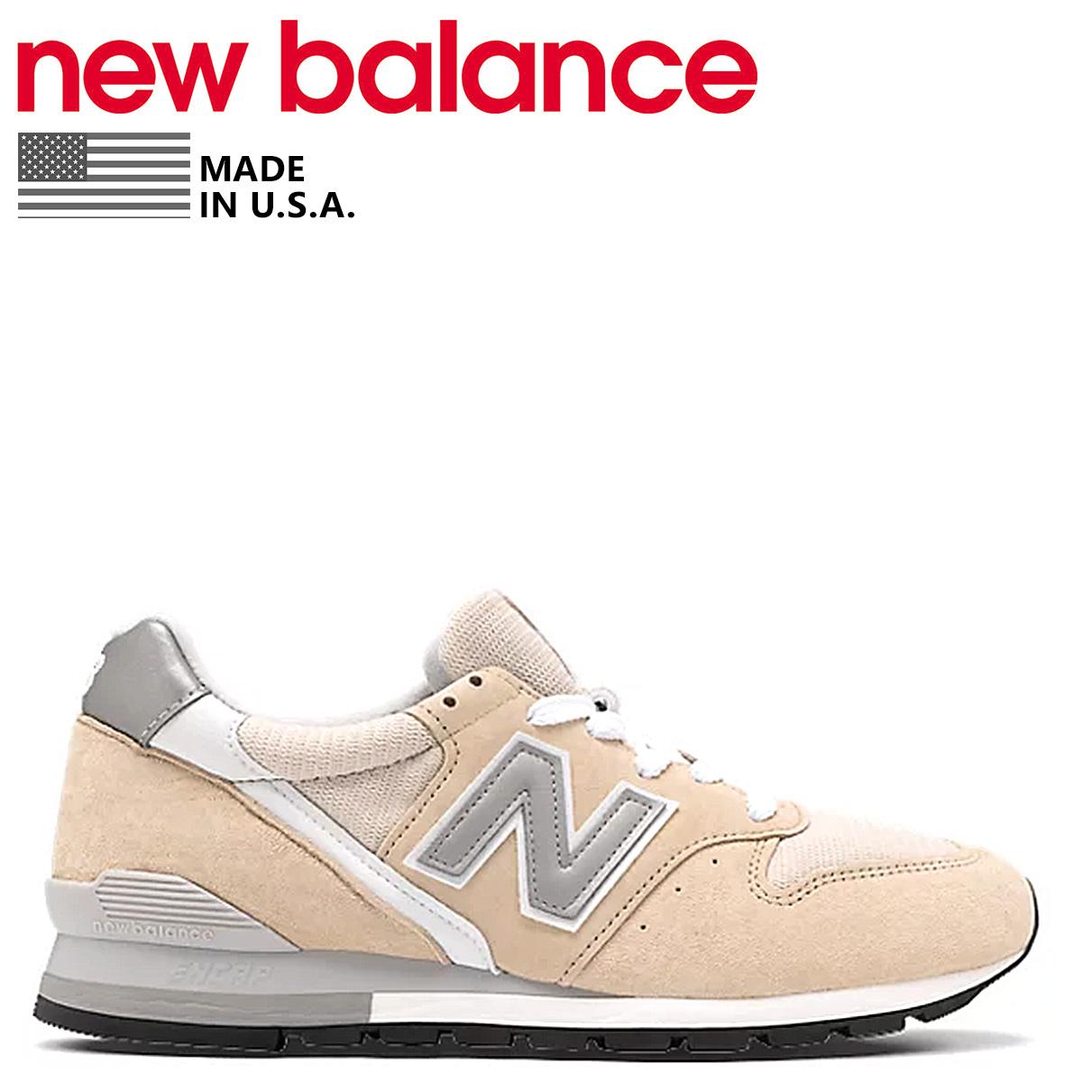 new balance ニューバランス 996 スニーカー メンズ Dワイズ MADE IN USA ベージュ M996CRC [予約 5月中旬 新入荷予定]
