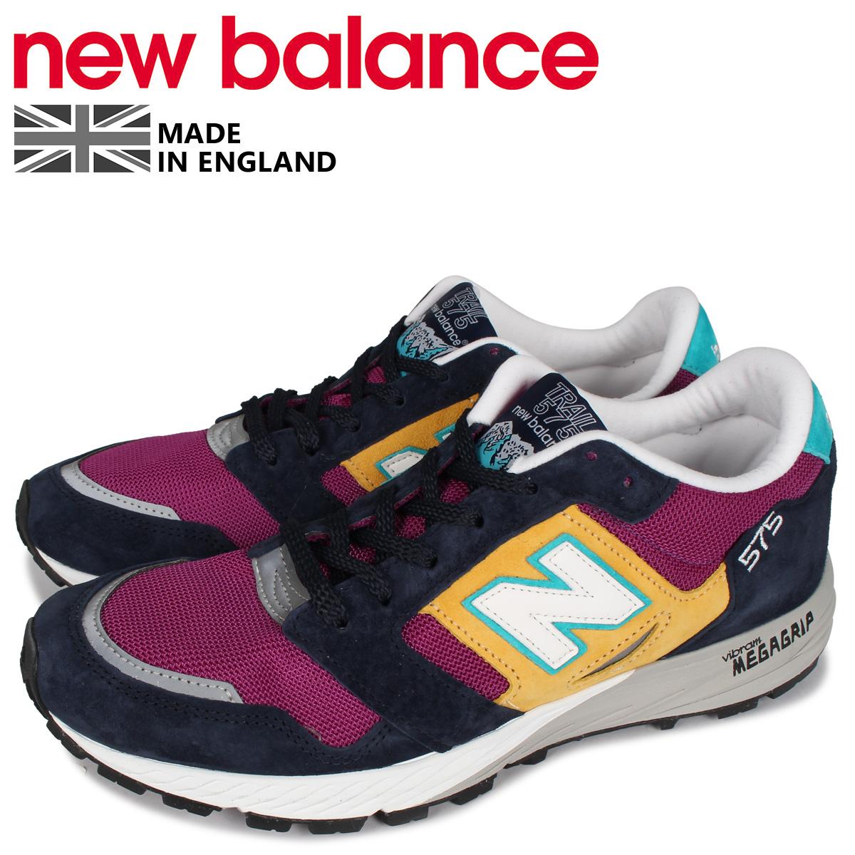 new balance ニューバランス 575 スニーカー メンズ Dワイズ MADE IN UK パープル MTL575LP