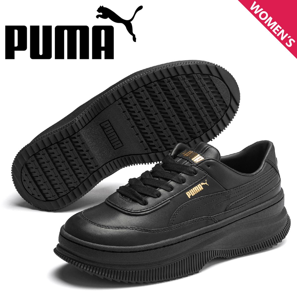 PUMA プーマ デバ スニーカー レディース 厚底 DEVA ブラック 黒 37119901 [予約 5月上旬 新入荷予定]