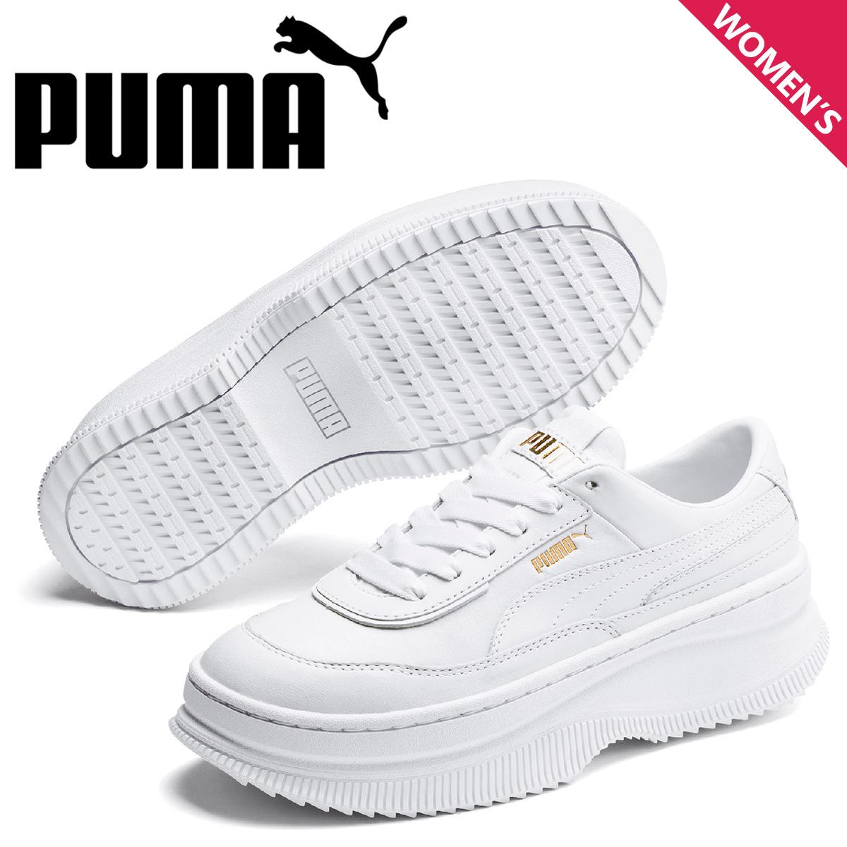 PUMA プーマ デバ スニーカー レディース 厚底 DEVA ホワイト 白 37119903 [予約 5月上旬 新入荷予定]