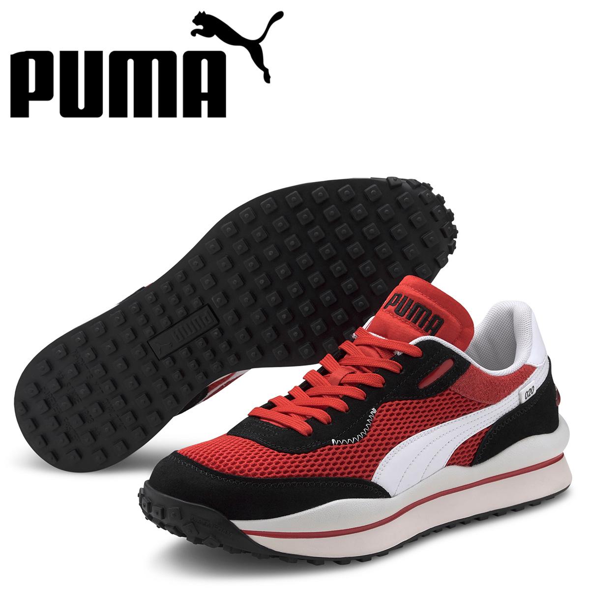 PUMA プーマ スタイル ライダー スニーカー メンズ STYLE RIDER STREAM ON レッド 37152701 [予約 5月上旬 新入荷予定]