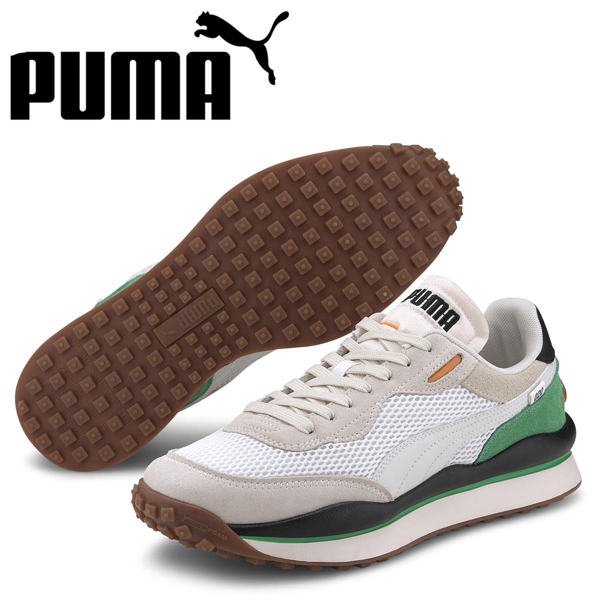 PUMA プーマ スタイル ライダー スニーカー メンズ STYLE RIDER STREAM ON ホワイト 白 37152702 [予約 5月上旬 新入荷予定]