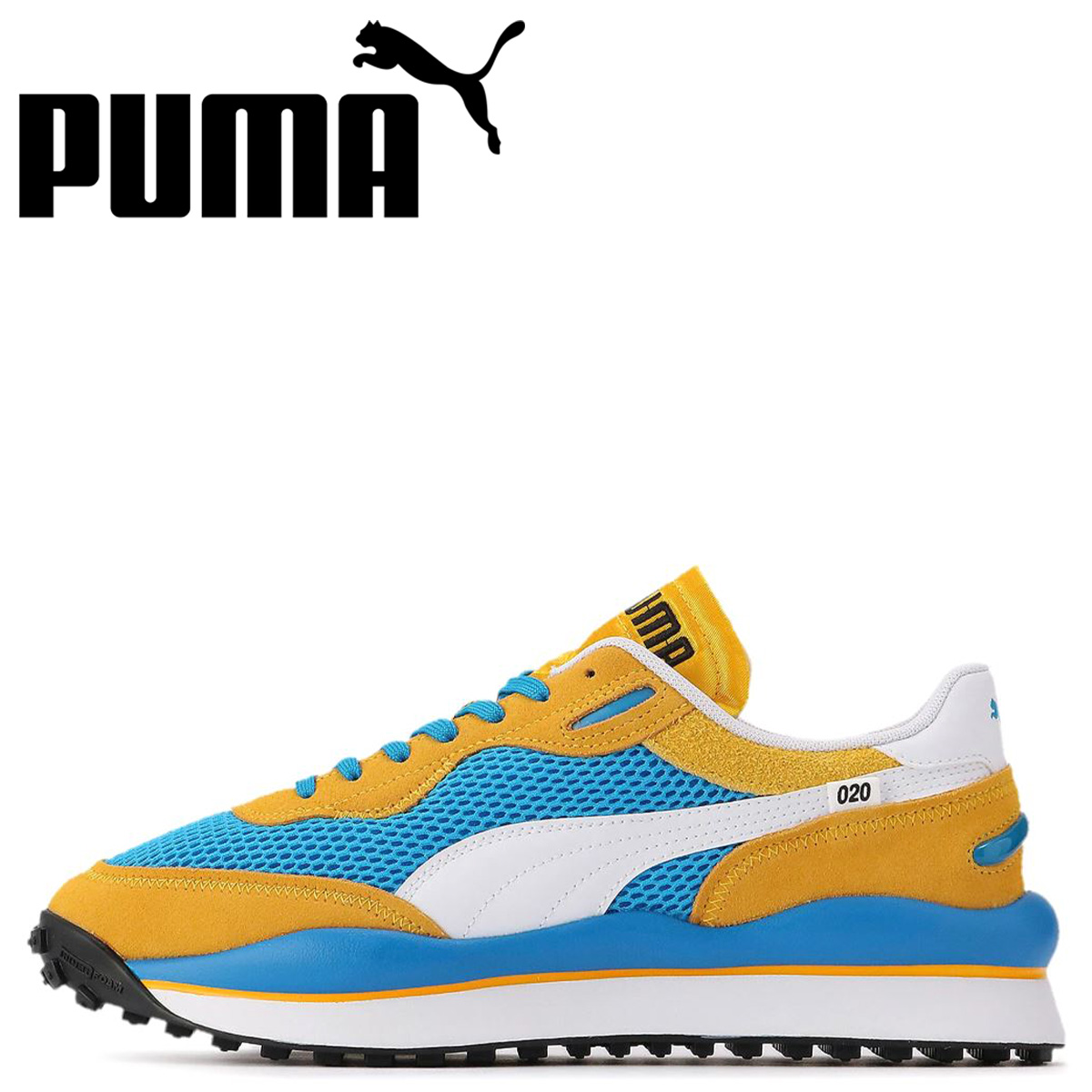 PUMA プーマ スタイル ライダー スニーカー メンズ STYLE RIDER STREAM ON ブルー 37152703 [予約 5月上旬 新入荷予定]