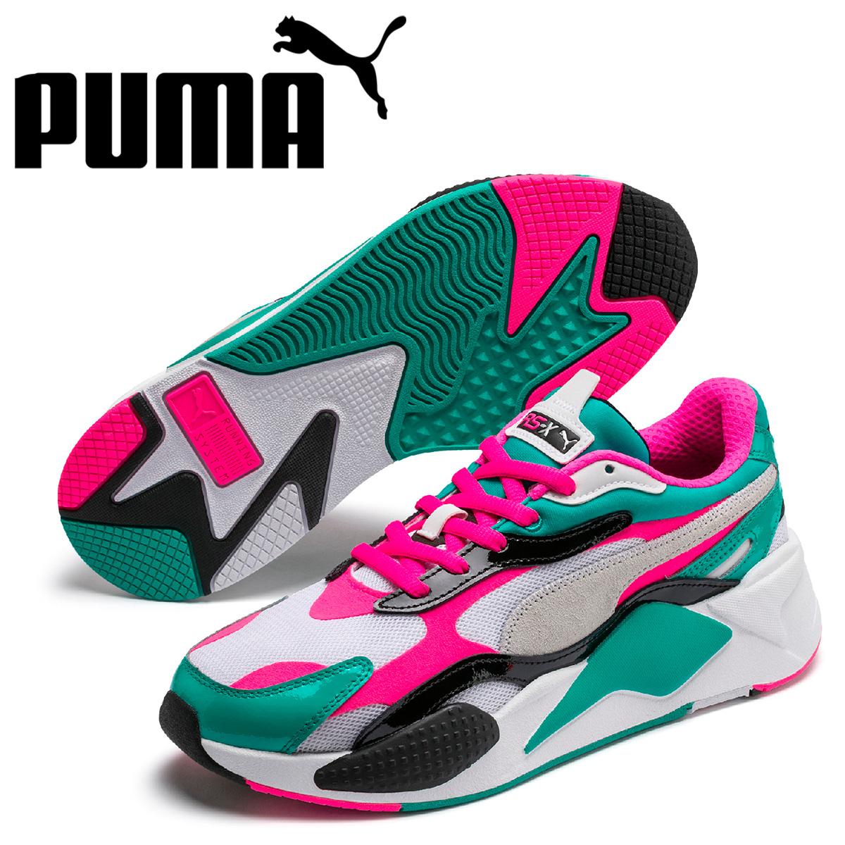 PUMA プーマ スニーカー メンズ RS-X3 PLASTIC ホワイト 白 37156904 [予約 5月上旬 新入荷予定]