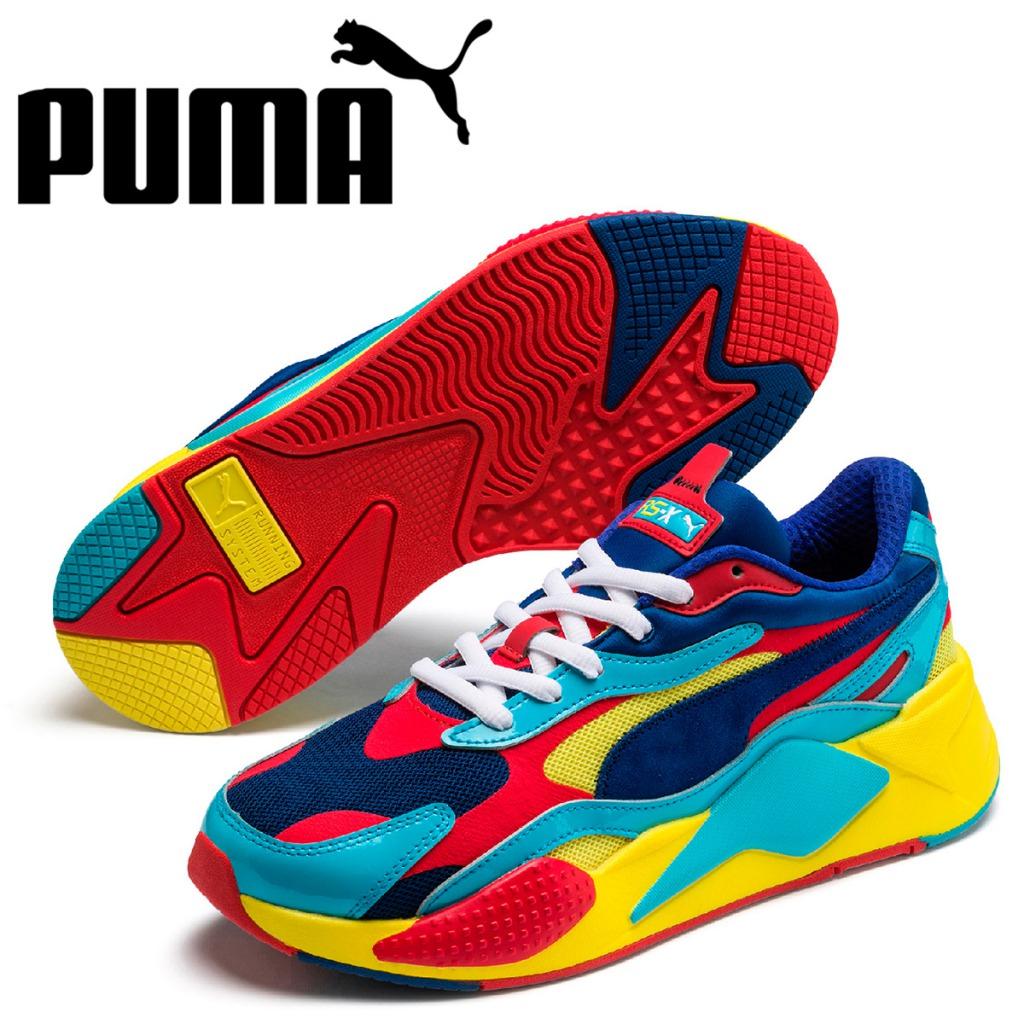 PUMA プーマ スニーカー メンズ RS-X3 PLASTIC レッド 37156906 [予約 5月上旬 新入荷予定]