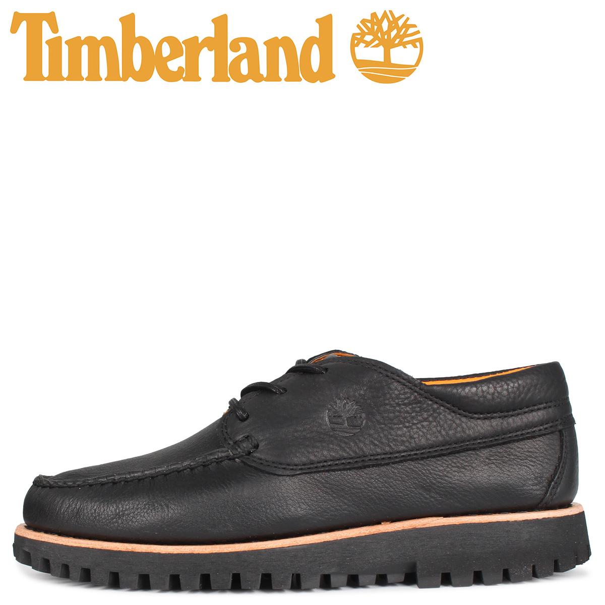 Timberland ティンバーランド ジャクソンズ ランディング オックスフォード シューズ メンズ JACKSONS LANDING HS MOC ブラック 黒 A29YB [5/1 新入荷]