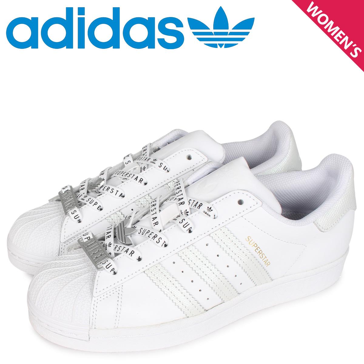 adidas Originals アディダス オリジナルス スーパースター スニーカー レディース SUPERSTAR W ホワイト 白 FV3392 [5/29 新入荷]