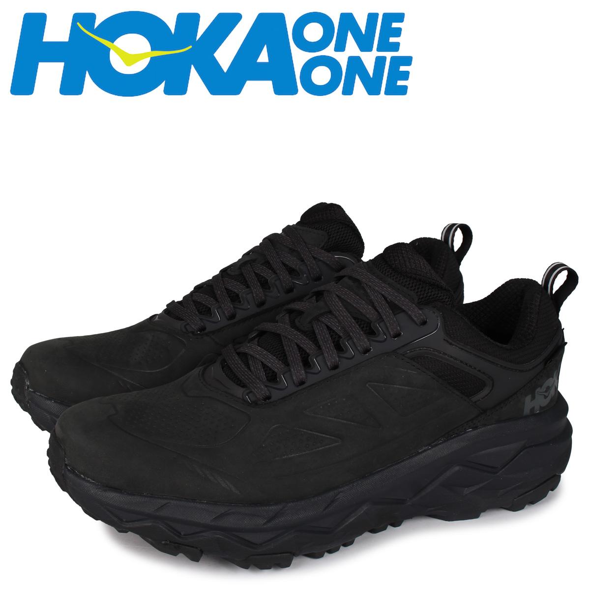 ホカオネオネ HOKA ONE ONE チャレンジャー スニーカー メンズ 防水 厚底 CHALLENGER LOW GTX ブラック 黒 1106517 [5/29 新入荷]