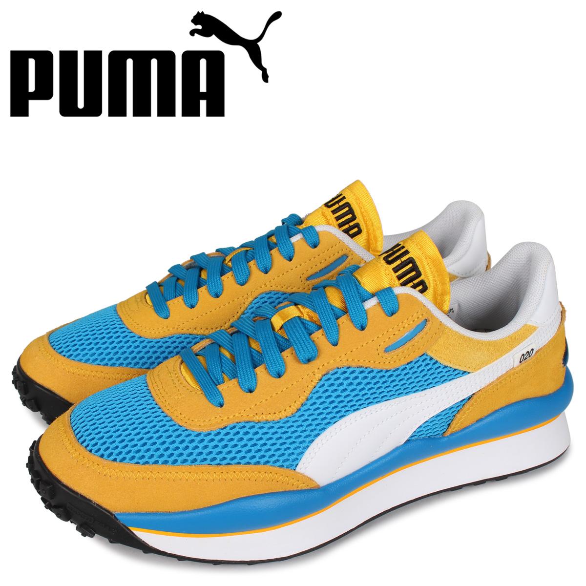 PUMA プーマ スタイル ライダー スニーカー メンズ STYLE RIDER STREAM ON ブルー 37152703 [5/20 追加入荷]