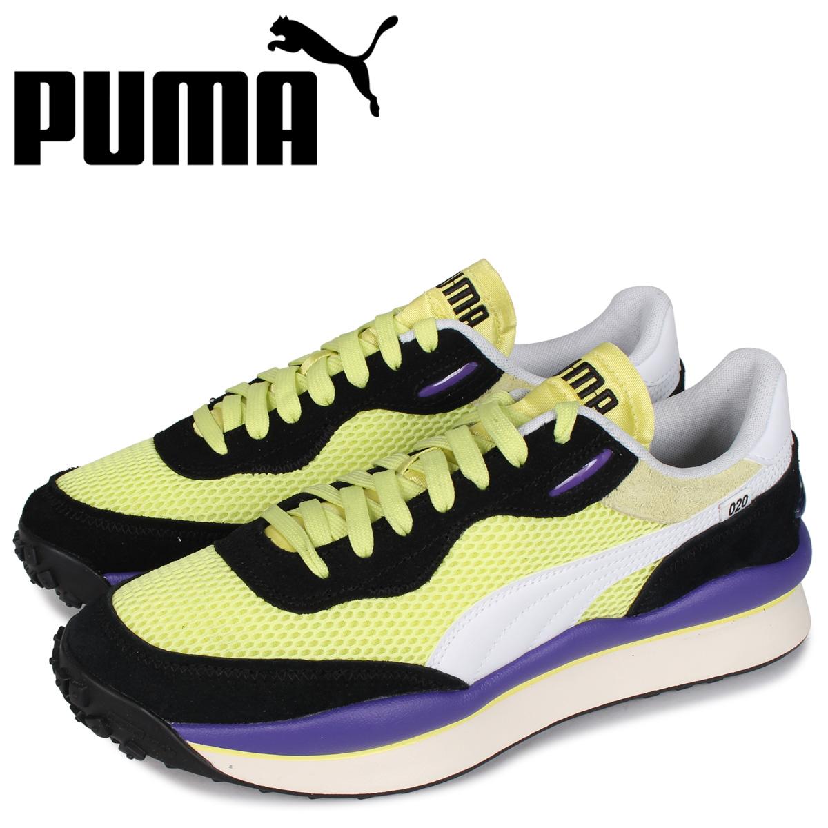 PUMA プーマ スタイル ライダー スニーカー メンズ STYLE RIDER STREAM ON イエロー 37152705:シュガーオンラインショップ