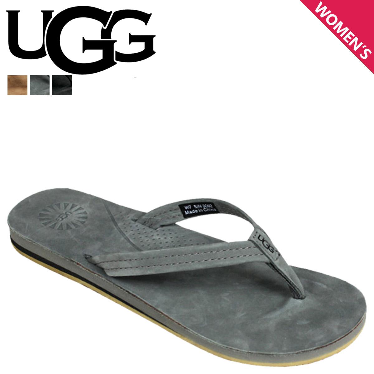 Sugar Online Shop | Rakuten Global Market: Point 2 x 3 color UGG UGG women's Kayla flip flops WOMENS KAYLA nubuck women's Sandals 2014 SPRING new 3092 ...